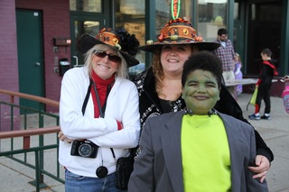 Trick-or-Treat on the square in downtown Lansing