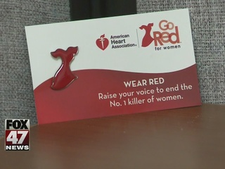 Go red for women's heart health today
