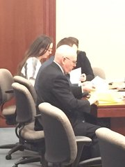 Melissa Mitin appears in court