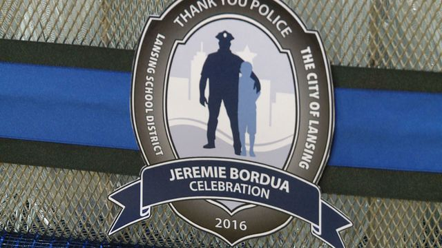 10-Year-Old Preps For Party For Police