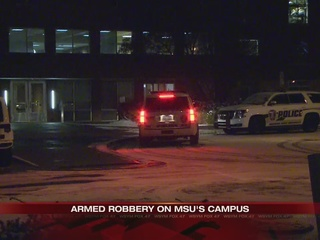 UPDATE: Armed robbery at dorm on MSU campus