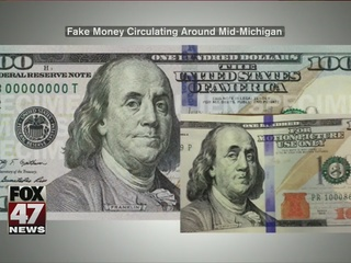 Counterfeit $100 bills in mid-Michigan