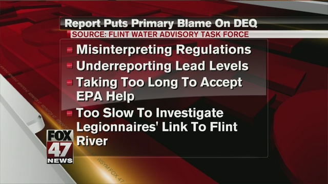 Inquiry: State 'fundamentally accountable' for Flint water crisis