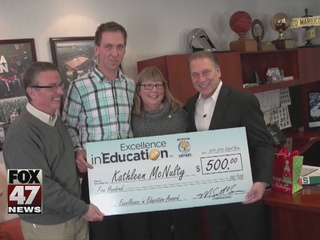 Excellence in Education 4/12: Kathleen McNulty