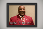 James W. Butler III sets standard for service