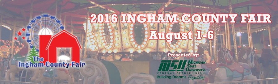 Ingham County Fair Header