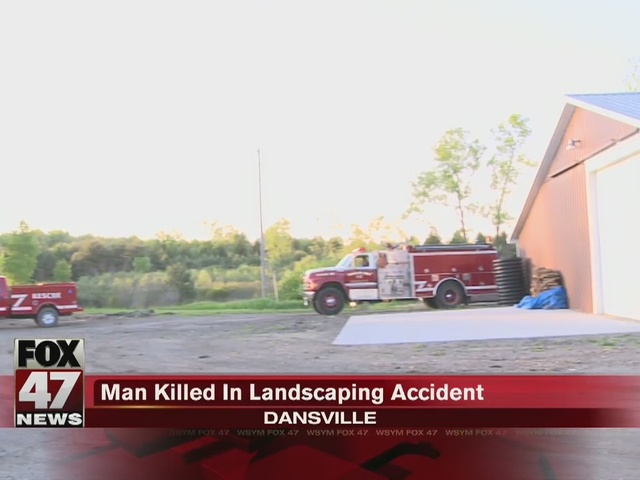 UPDATE: Landscaping accident victim identified