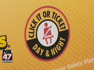Click It or Ticket now in effect cross the state