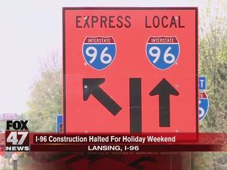 MDOT temporarily removing 'split-merge' on I-96