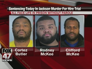 Sentencing in Jackson murder for hire trial