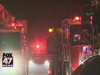 Space heater caused fire in Lansing