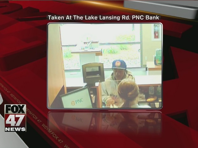 East Lansing police look for bank robber