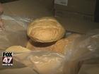 Bakery employee put metal pieces in bread