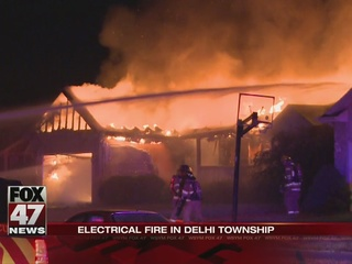 UPDATE: Electrical fire destroyed Holt home