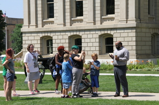 Library brings people together with Pokemon GO