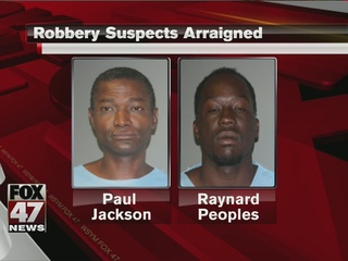 Two suspects arraigned in overnight assault...