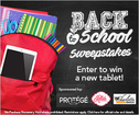 Rules: Back to School Sweepstakes