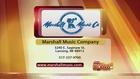Marshall Music - 8/25/16