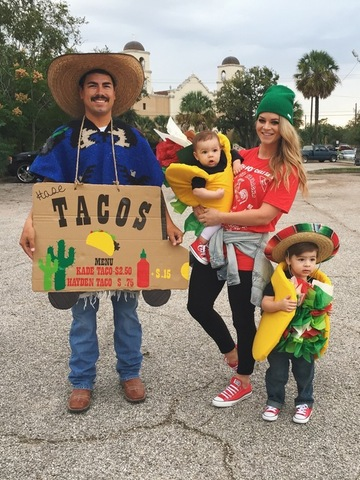 lets taco about it family halloween costume - Homemade Halloween Ideas