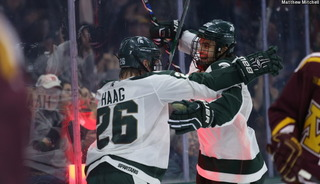 TV schedule, game times announced for MSU hockey