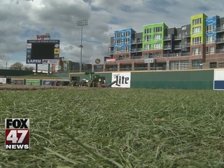 Cooley Law School Stadium field getting makeover