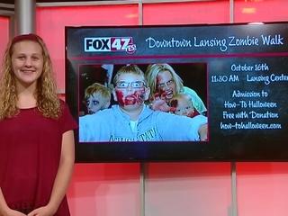 Around Town Kids: Downtown Lansing Zombie Walk