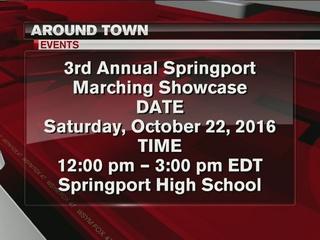 Around Town 10/19/16: Marching showcase