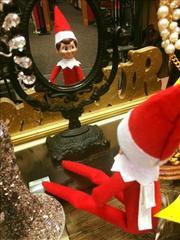 Yes! Pics: Elf on the Shelf