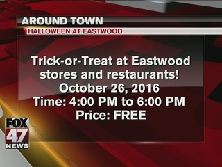 Trick-or-treat at Eastwood Towne Center