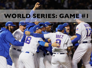 Cubs take on Indians tonight at 7:30!