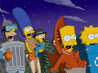 Simpson's Treehouse of Horror at 6PM all week!