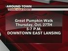 Around Town 10/25/16: Great Pumpkin Walk