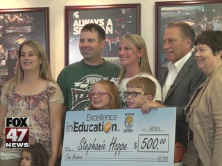Excellence in Education: Stephanie Hoppe