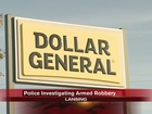 Police look for armed robbers