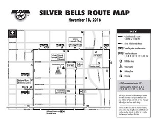 Parking and transportation for the Silver Bills