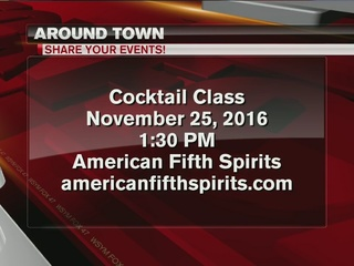 Around Town 11/23: American Fifth Cocktail class