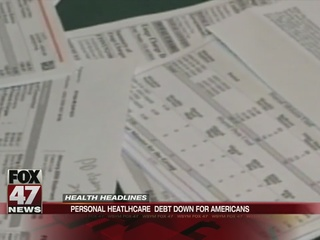 Personal healthcare debt is down for Americans