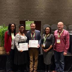 Faculty, student work honored at convention