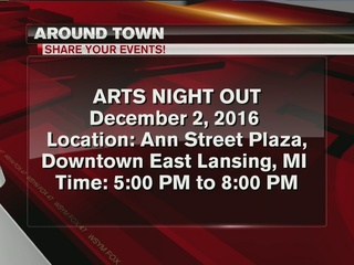 Around Town 12/1/16: Arts Night Out in EL