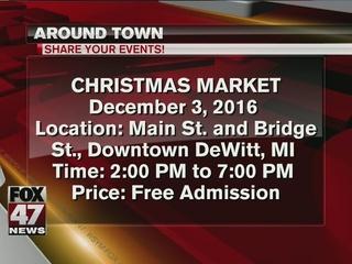 Around Town: 12/2/16/ Christmas Market