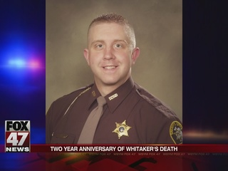 Two year anniversary of Deputy Whitaker's death