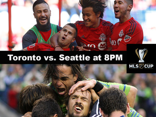 Kick off your night with Major League Soccer!