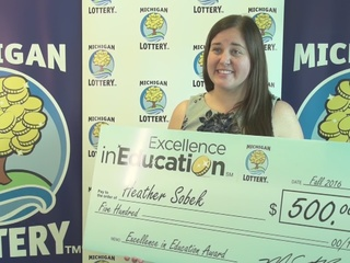 Excellence in Education: 12/13/16: Heather Sobek