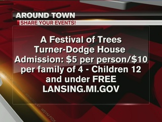 Around Town 12/28/16: Festival of Trees
