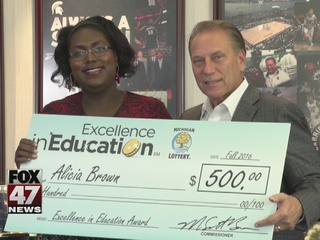 Excellence in Education: 1/3/2017: Alicia Brown