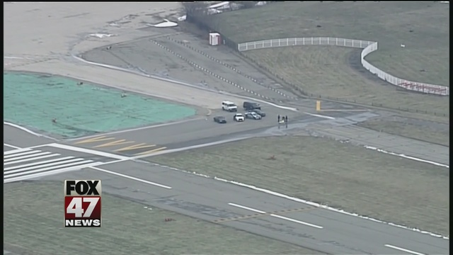 Body found on runway of City Airport