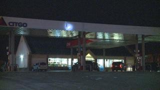 Gas station held up at gunpoint