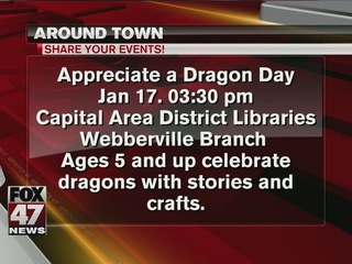 Around Town 1/16/17: Appreciate a Dragon Day