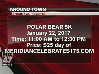Around Town 1/17/17: Polar Bear 5K