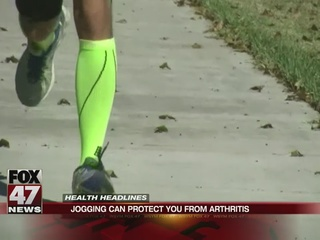 Jogging can protect you from arthritis